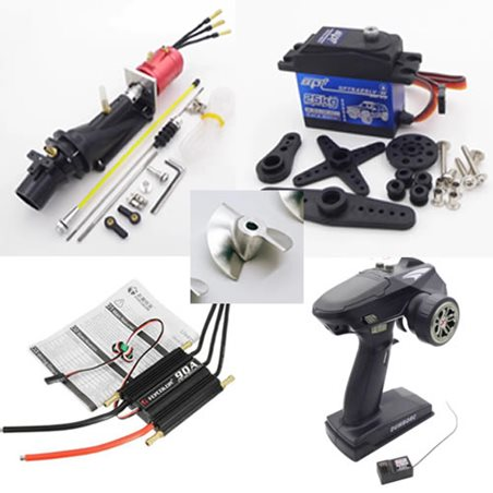 550 RC Hardware Kit